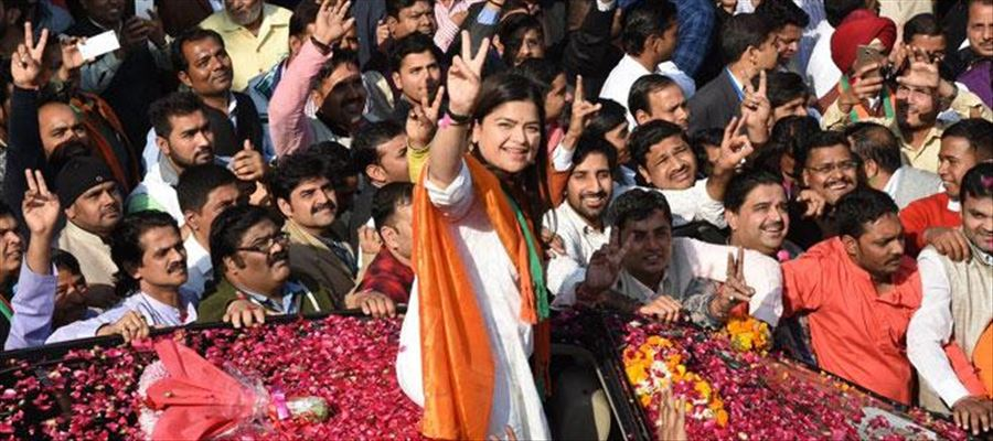 Poonam Mahajan sets target for youth to record a win for BJP in forthcoming election